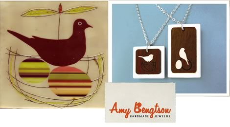 Amy Ruppel + Amy Bengtson: Handmade Jewelry