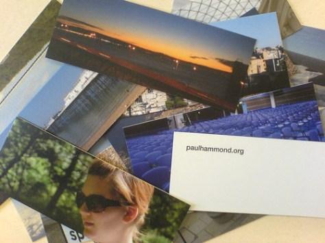 Paul Hammonds cards