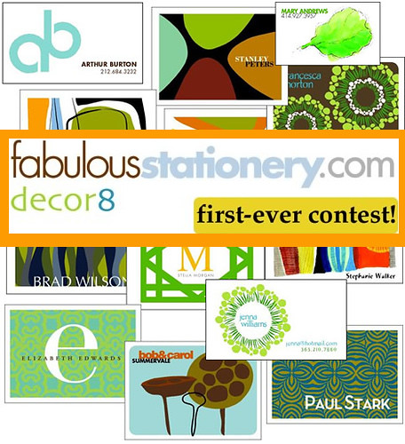 decor8 Contest: Hurry! Ends September 28th
