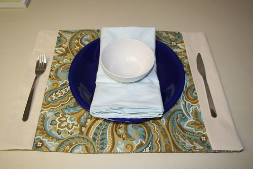 napkins and placemats
