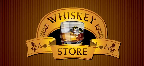 Free Whiskey Vector Logo