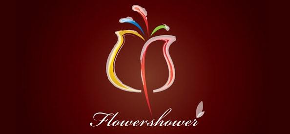 Free Flower Logo Design Template
