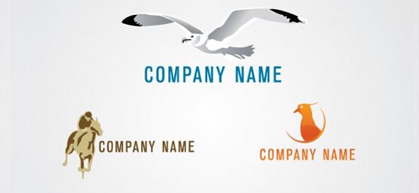 Free Animal Logo Design Template Set 03