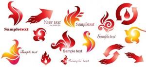 Free Fire Logo Design Vectors