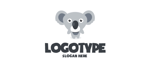 Koala Logo Design Template