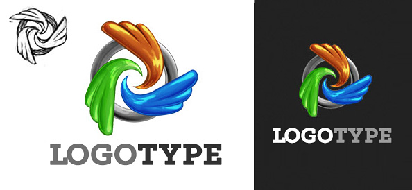 Abstract Logo Design Template
