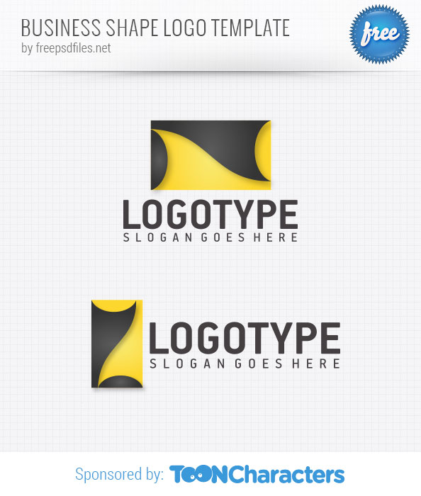 Business Shape Logo Template