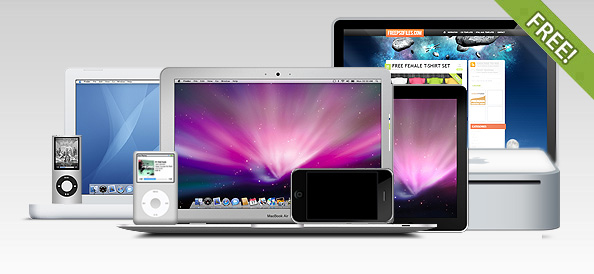 The Ultimate Apple PSD Collection