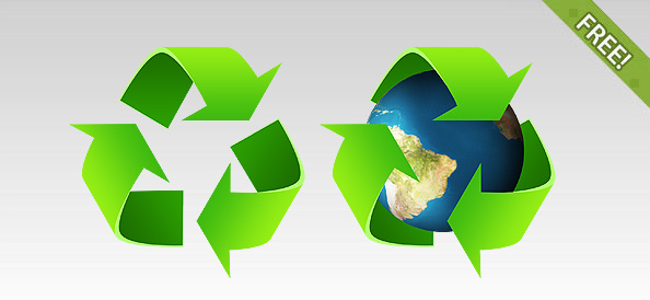 2 PSD Recycling Symbols