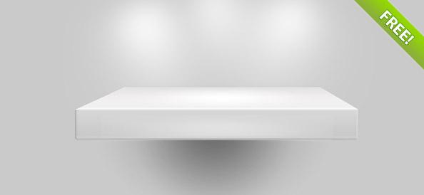 Empty Shelf PSD