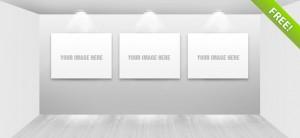 Free PSD Gallery Showroom