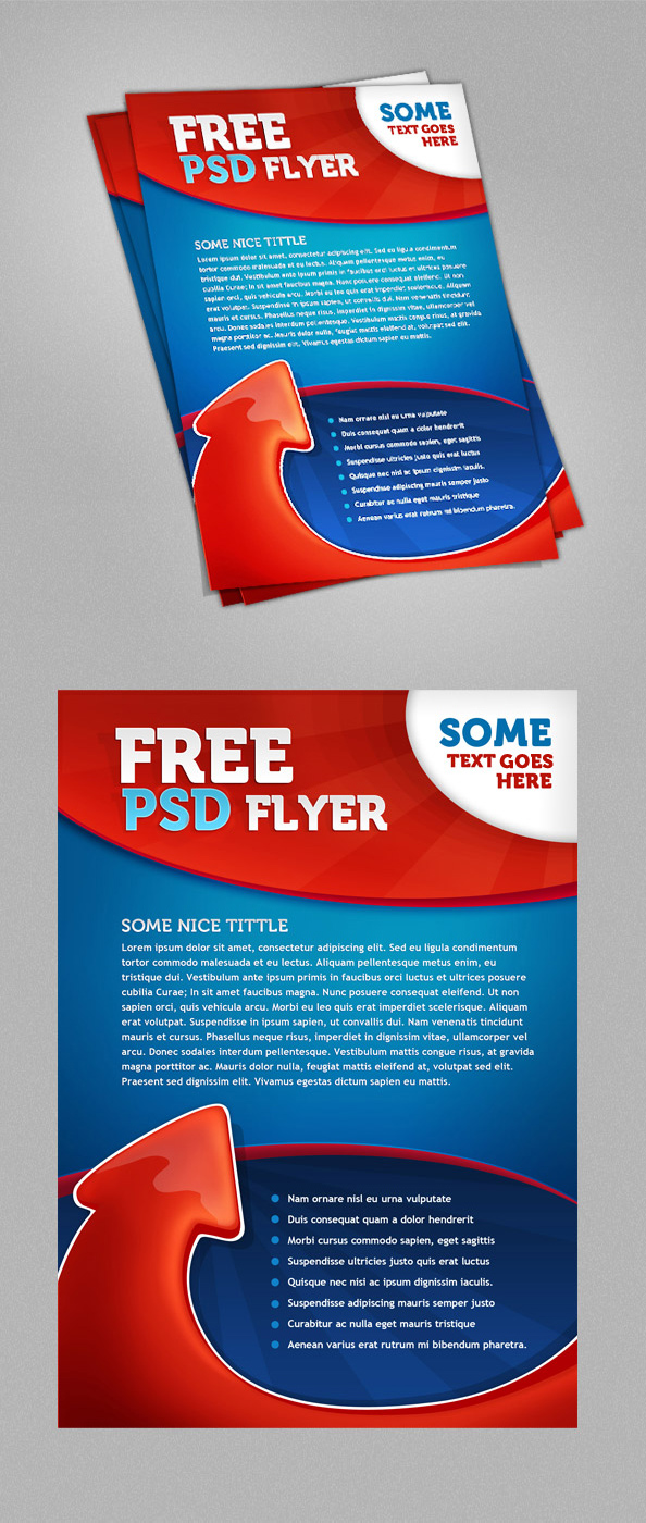 psd flyer template psd files preview