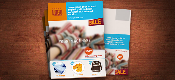 Free PSD Retail Marketing Postcard Free PSD Files - Free marketing brochure templates