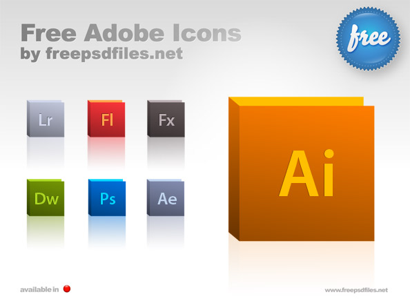 Adobe Icon Set Preview Big