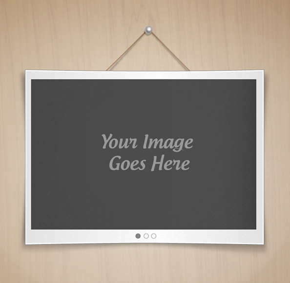 Wall Sign PSD Template Preview Big