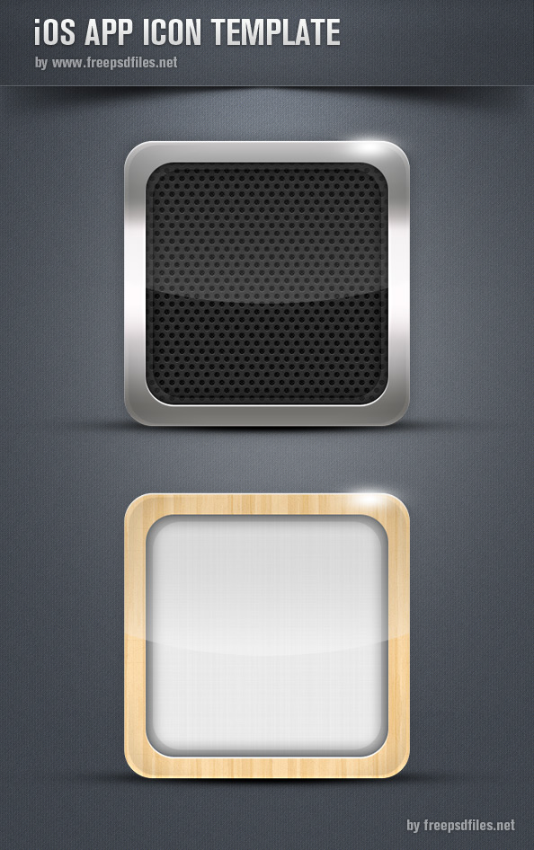 iOs App Icon Template Preview