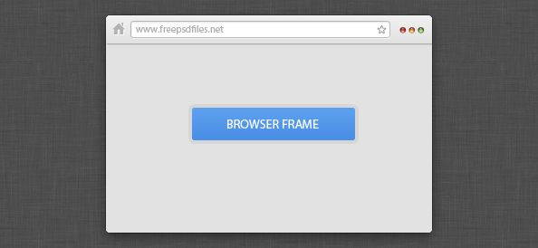Mini Browser Frame