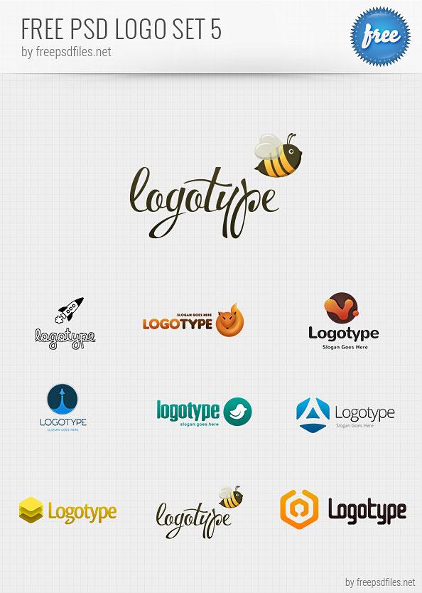 Free PSD Logo Design Templates