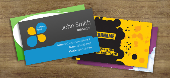 10 best free psd business cards