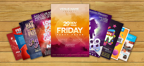 10 Best Free PSD Flyer Templates