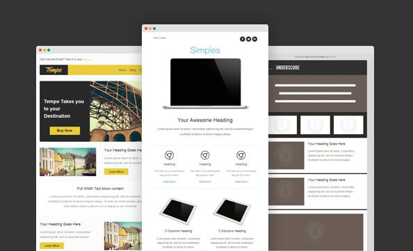 7 email templates