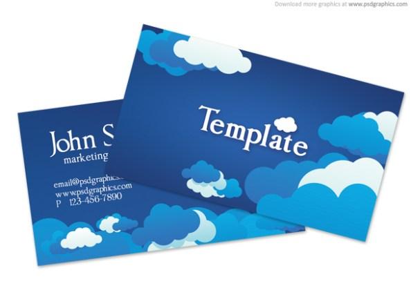 blue-sky-business-card