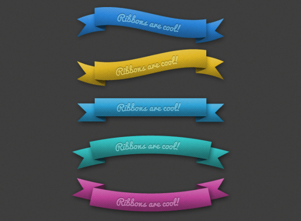 psd ribbon-preview
