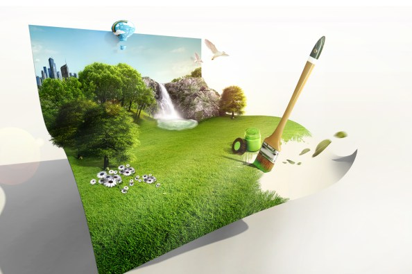 the_creative_green_living_picture_template_design_layered_2