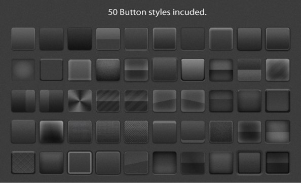 50 button styles