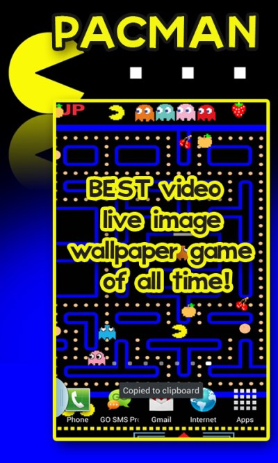 Free PACMAN Live Image Wallpaper free APK Download For Android | GetJar