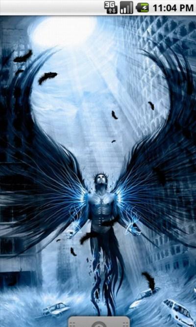 Free Dark Angel Cool Live Wallpaper APK Download For Android | GetJar