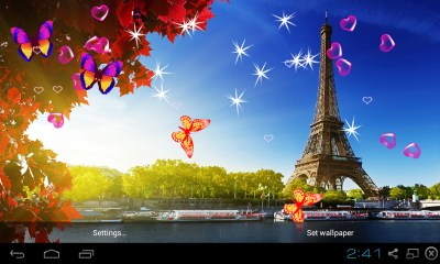Free 3D Eiffel Tower Live Wallpaper APK Download For Android | GetJar
