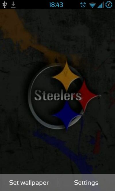 Free Pittsburgh Steelers NFL Live Wallpaper APK Download For Android | GetJar