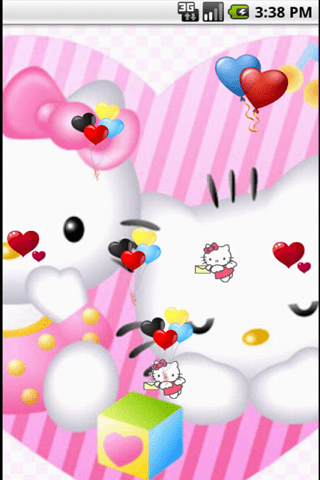 Free Hello Kitty Baby Cute Live Wallpapers APK Download For Android | GetJar