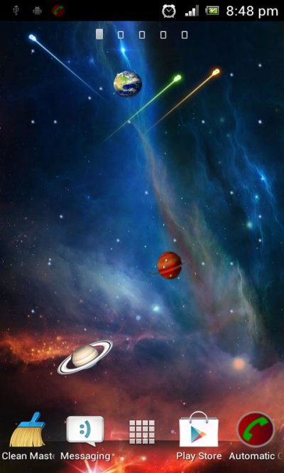 Free Galaxy 4D Live Wallpaper APK Download For Android ...