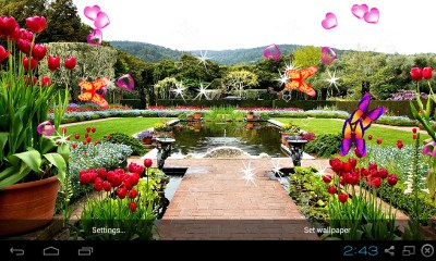 Free 3D Garden Live Wallpaper APK Download For Android | GetJar