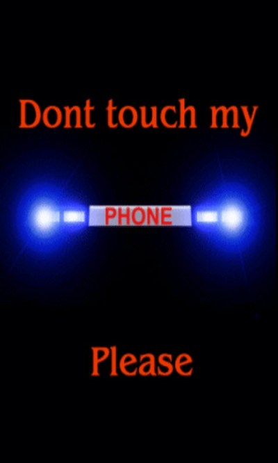 Free Dont Touch My Phone Live Wallpaper APK Download For Android | GetJar