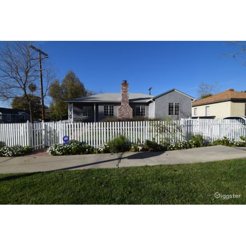 Medium Crop Of White Picket Fence House