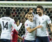 Video: Đan Mạch vs Pháp