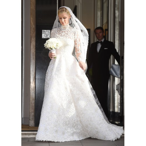 Medium Crop Of Nicky Hilton Wedding Dress