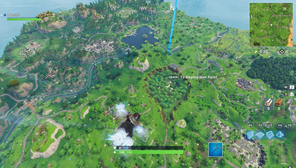 Dusty Divot   Depot Treasure Map Location   Fortnite Season 5 Week 7 Fortnite BR Dusty Divot Treasure Map Location Weekly Challenge