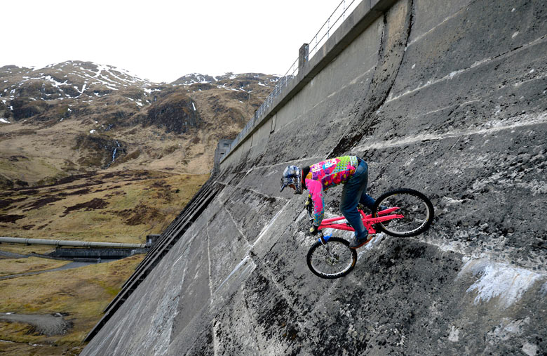 Dam Busting in Scotland :: The Guardian