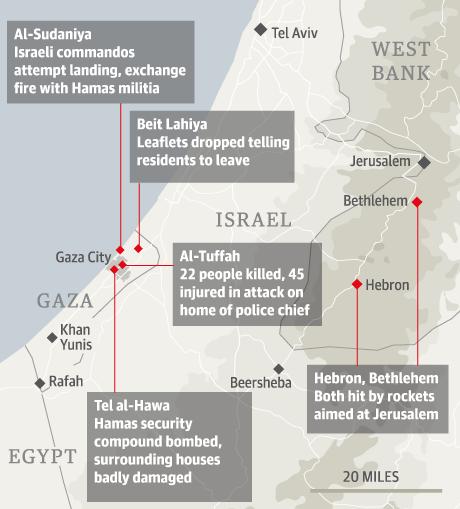 Israel Gaza raid