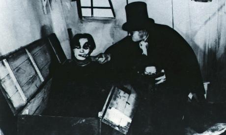 Conrad Veidt, left, and Werner Krauss in The Cabinet of Dr Caligari. Photograph: Friedrich Wilhelm Murnau Stifling/Transit Film Gmbh