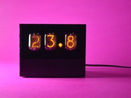 Nixie Temperature Display