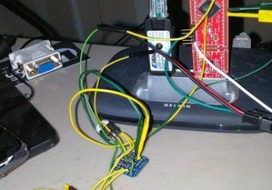 Cypress PSOC 4 + ESP8266 WS2812 RGB XMAS Lights