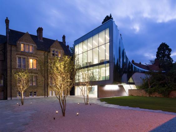 Fine Modern Architecture Oxford For Design Ideas