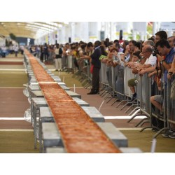 Small Crop Of Worlds Biggest Pizza