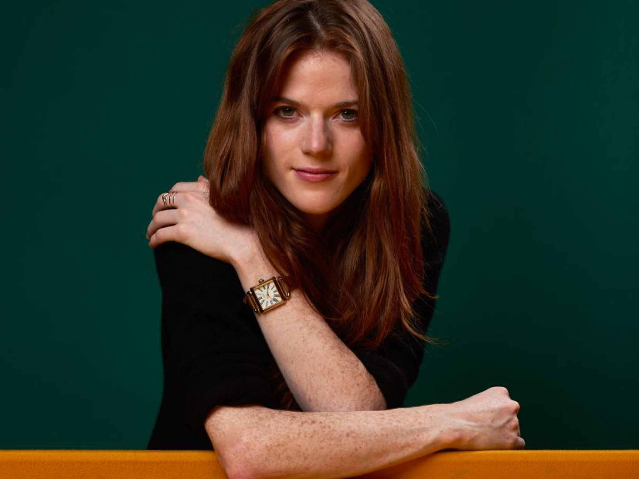 Rose Leslie on being Idris Elba s co star in  Luther  and life after     In the red corner  Rose Leslie is Idris Elba s new sidekick in