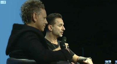 Conferinta de presa Depeche Mode de la Paris